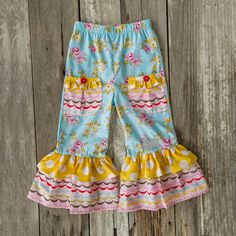 Up in the Clouds Ruffle Pants