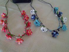 Macrame, Crochet Necklace, Bohemian, Ornaments, Beads, Handmade, Beautiful, Jewelry, Decor