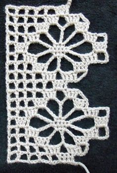 Spider - Ravelry: Baccaro Lace pattern by A.M.