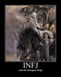 INFJ = The Seer.