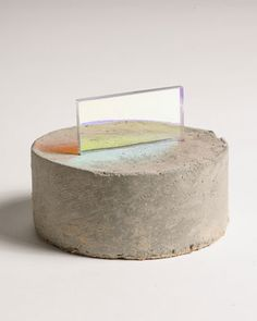 "Esther Ruiz - ""Truth Told"" - Concrete and plexiglass"