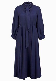 mint&berry Freizeitkleid navy blazer Bekleidung bei Zalando Mint, Blazer, High Neck Dress, Dresses With Sleeves, Long Sleeve, Berry, Fashion, Clothing, Gowns