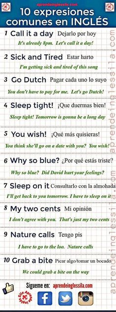 How easy is it to learn spanish how to learn spanish language through english,i want to learn spanish learn spanish in cuba,learn to speak spanish for beginners learning spanish like crazy. Spanish Phrases, English Phrases, English Idioms, English Words, English Grammar, Teaching English, English Language, Spanish Idioms, Spanish Games