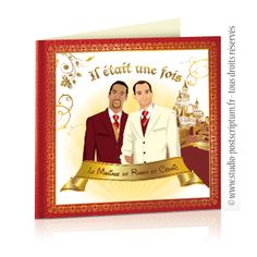 faire part de mariage original gay et lesbien princes charmants gay wedding save - Idee Mariage Gay