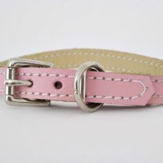 Soft Leather Puppy Collars, Puppy Collars #dogleads #dogcollars #puppies