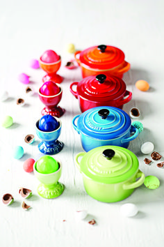 Le Creuset Egg Cups and Mini Cocottes