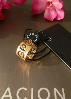 Compra mi artículo en #vinted http://www.vinted.es/accesorios/anillos/324391-anillo-pg-dorado-troquel-iniciales