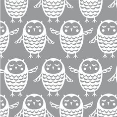 Owl pattern - Sarah Papworth