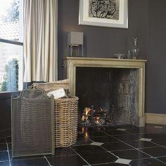 Antique fireplace - @ Leon Van den Bogaert - Kalken (Gent) - Belgium