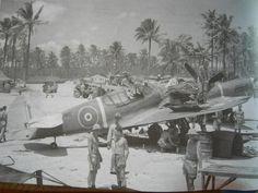 RNZAF Kittyhawk somewhere in the Pacific.