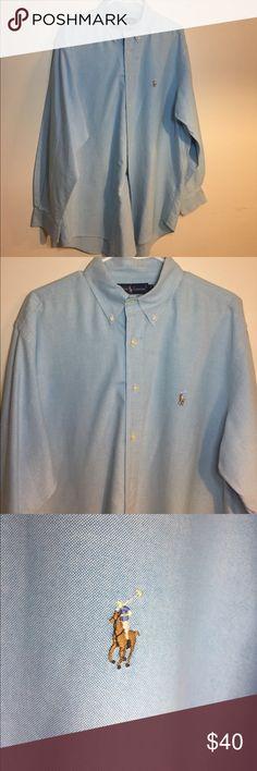 Ralph Lauren Yarmouth men's dress shirt. 16 1/2-34 EUC Ralph Lauren Yarmouth men's shirt. Size 16 1/2-34. Ralph Lauren Shirts Dress Shirts