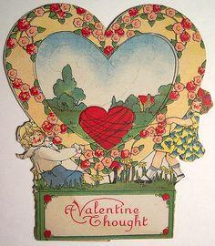 Vintage Valentine's Day Card | by riptheskull