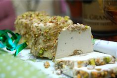 Exotic Turkish Halva & Cognac Vegan Cheese, £7.50