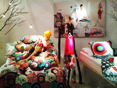 """Desigual at Maison & Objet Paris,""""I just want to say: Goodnight...."""", pinned by Ton van der Veer"""