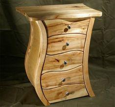 Handmade Nightstand by James Brauer