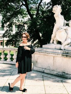 Summer is definitely coming closer. This means time for summer dresses. I am a huge fan of dresses, I hardly wear any… Style Fashion, Fashion Outfits, Vienna, Street Style, Summer Dresses, Cute, How To Wear, Inspiration, Black