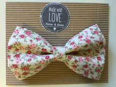 Hand made Bow tie