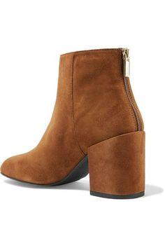 Stuart Weitzman - Bacari Suede Ankle Boots - Camel - IT41