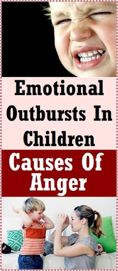 Rage outbursts in children: How to deal with them?