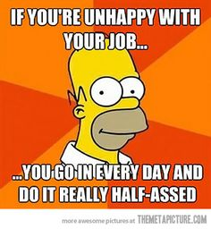 Unhappy with your job?