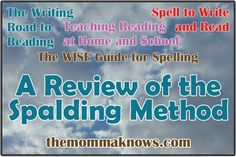 A Review of the Spalding Method & Spell To Write and Read ~ The Momma Knows