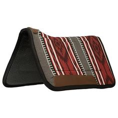Contoured Saddle Pad – Tacky-Tack™ Liner, Red/Gray - Weaver Leather Equine Western Saddle Pads, Western Tack, Saddle Bags, Horses, Gray, Detail, Leather, Grey, Horse