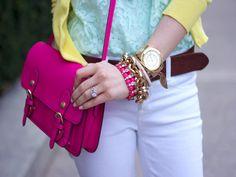 love bright colors!