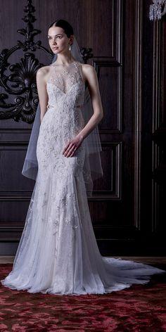 Monique Lhuillier Spring 2016 Wedding Dresses 17