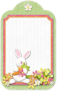 tags de Páscoa - Presente do blog Poções de Arte, da querida Bruxa!