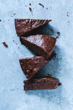 Gâteau au chocolat et beurre d'amande {sans gluten} et ma nouvelle infolettre…