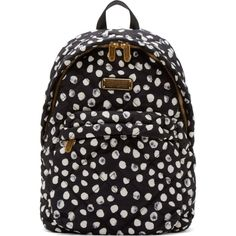 Marc by Marc Jacobs Black & White Quilted Crowsby Backpack