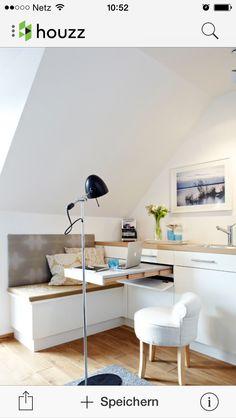Küche mit herausziehbarer Arbeitsfläche - genial