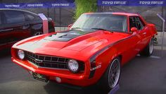 Pro Touring LSA Supercharged 1969 Chevrolet Camaro by V8 Speed Shop