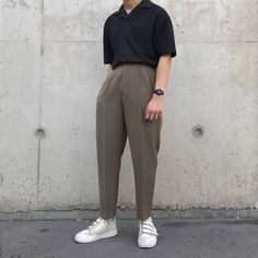 casual mens fashion that look cool 328178 Stylish Mens Fashion, Korean Fashion Men, Stylish Mens Outfits, Look Fashion, Casual Outfits, Fashion Rings, Fashion Photo, Cheap Fashion, Street Fashion