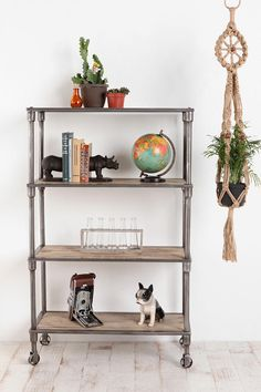 Heritage Bookshelf. For storage in the kitchen   Urban Outfitters $249