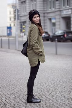 teetharejade » Blog Archive Outfit: Chelsea boots & military jacket - teetharejade