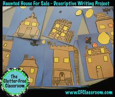 Clutter-Free Classroom: Haunted House Creative Writing Project