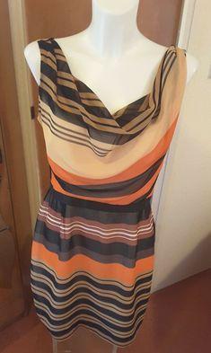 e37beb97fb0d Oasis Ladies Geometric Striped Summer Dress Size 14 Wedding Cruise Party  Races  Oasis  ShiftDress