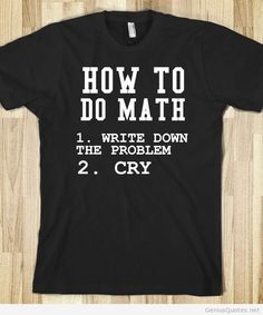 Doing math quotes!