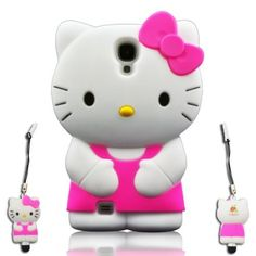 I Need 3D Cute Soft Silicone Gel Hello Kitty Case Cover Protector Skin for Samsung Galaxy S4 SIV I9500 + 3d Hello Kitty Stylus Pen (HOT PINK) by Cartoon Shop, http://www.amazon.com/dp/B00CPYRUFC/ref=cm_sw_r_pi_dp_NtSQrb0ETHQPV