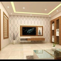 Home Design, Hall Interior Design, Living Room Tv Unit Designs, Ceiling Design Living Room, Tv Cabinet Design, Tv Wall Design, Modern Tv Wall Units, Modern Tv Unit Designs, Tv Unit Decor