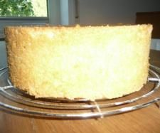 Super fluffy and high bisquit cake.