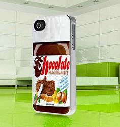 apple iphone case Cool Chocolate Hazelnut Cream  by MuliasCraft, $16.00