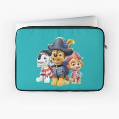 'Paw Patrol fun' Laptop Sleeve by StefaniaAlina Paw Patrol, Laptop Sleeves, Lunch Box, My Arts, Art Prints, Printed, Awesome, Artist, Fun