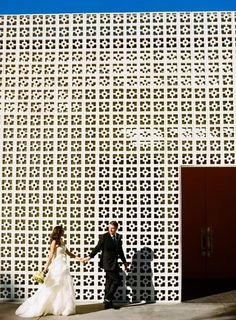 Haha. I was looking at divider walls with this pattern. MASSIVE SCALE!! Haha. (The Parker, Palm Springs)