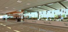 Infografias del aeropuerto de Tenerife :: Virtual Company: Infografía, Video, Diseño, Comunicación ::