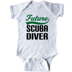#Future #Scuba #Diver Infant Creeper #cute Scuba Diving #gift for kids. Makes a…