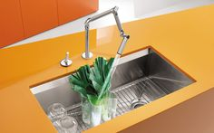 Jacob Delafon Kitchen Sinks : articul? pour ?vier Jacob Delafon Karbon Espace Aubade Kitchen ...