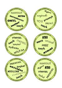 Dobble - vybrané slová Dyslexia, No Time For Me, Language, Classroom, Education, Adhd, Montessori, Accessories, Class Room