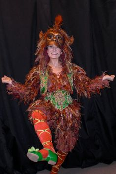 FANTASTIC picture of the Masquerade monkey costume from the Vegas production, attached to a very entertaining blog post by the dancer herself about a typical 2-show evening.  I've GOT to get out and see this production again before it glows away forever.